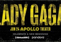 SiriusXM Lady Gaga At The Apollo Theater Sweepstakes