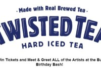 Twisted Tea 101.7 Bull Birthday Bash Giveaway
