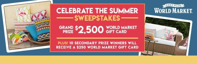 Valpak.com Celebrate The Summer Sweepstakes