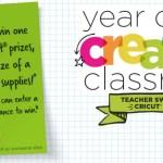 Year Of Creative Classroom Cricut Sweepstakes