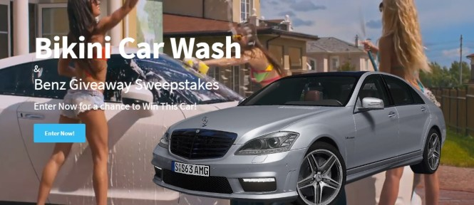 Bikini Wash And Benz Giveaway Sweepstakes