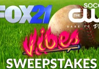 Fox 21 Rocky Mountain Vibes Baseball Sweepstakes