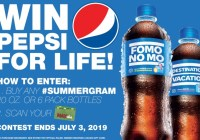 Free Pepsi For Life Giveaway