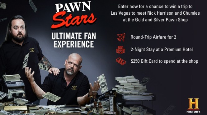 Pawn Stars Ultimate Fan Sweepstakes