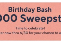 QVC Birthday Bash $25000 Sweepstakes