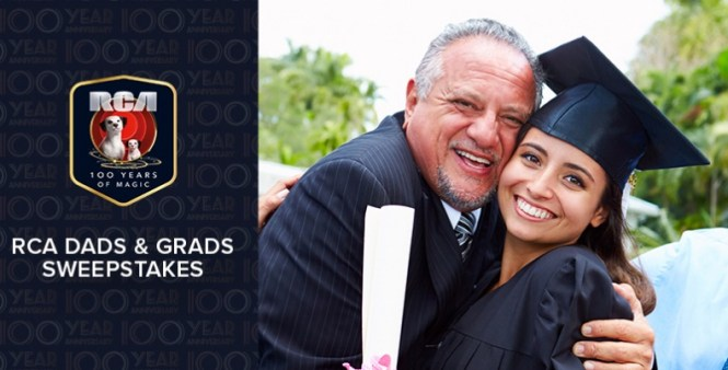 RCA Dads And Grads 2019 Sweepstakes