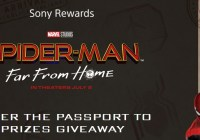 Sony Rewards Spider-Man Passport To Prizes Giveaway