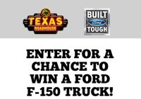 Texas Roadhouse Dads Day Ford Truck Giveaway