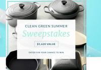 Three Main Clean Green Summer Sweepstakes