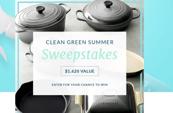 Three Main Clean Green Summer Sweepstakes