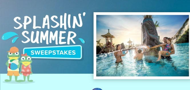 Undercover Tourists Splashin Summer Sweepstakes