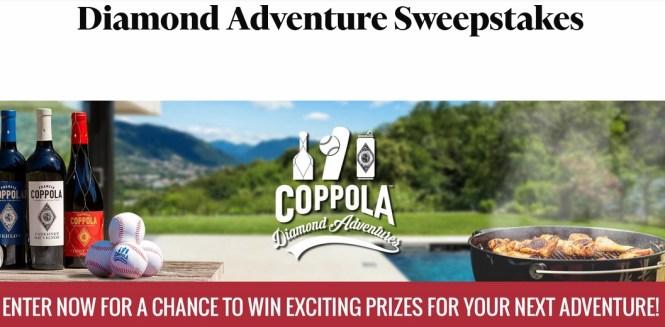 Coppola Diamond Adventures Sweepstakes