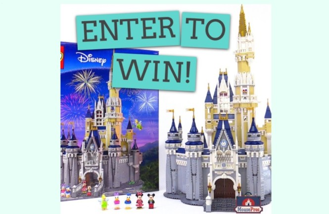 MousePros LEGO Disney Castle Giveaway