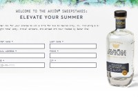 Pernod Ricard Avion Summer Sweepstakes