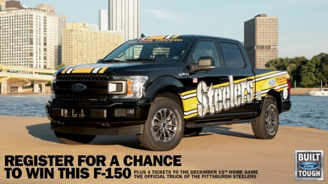 2019 Ford F-150 4x4 Pickup Giveaway