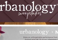 Ashley Furniture Homestore Urbanology Sweepstakes