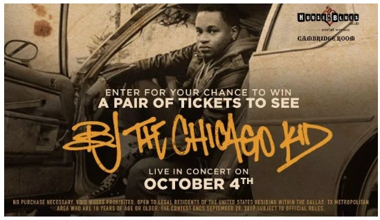 BJ The Chicago Kid Contest