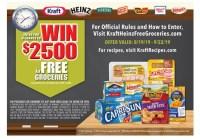 Kraft Heinz Free Grocery Giveaway 2019