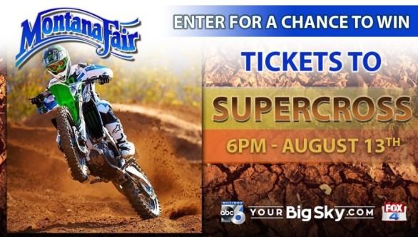 Montana Fair Supercross Sweepstakes - Win Tickets To Supercross
