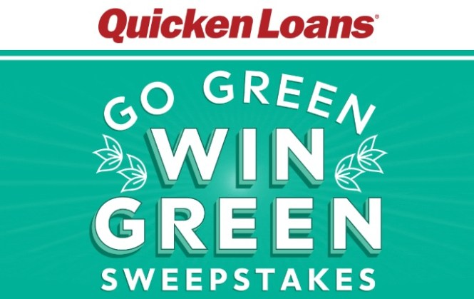 Quicken Loans Go Green Win Green Sweepstakes