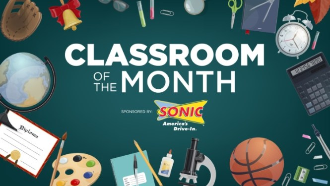 Sonic Drive-In Classroom Of The Month Contest
