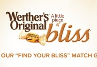 Werther Find Your Bliss Sweepstakes