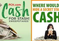 PCH.com Secret Cash Stash Sweepstakes