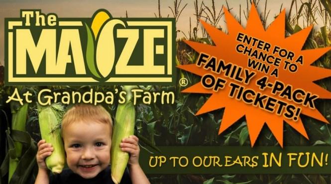 Corn Maze Sweepstakes