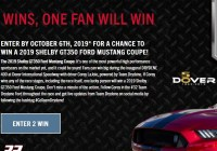 Ford Mustang Giveaway