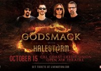 Godsmack With Halestorm Tickets Giveaway