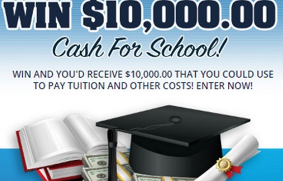 PCH $10000 Cash For School Giveaway