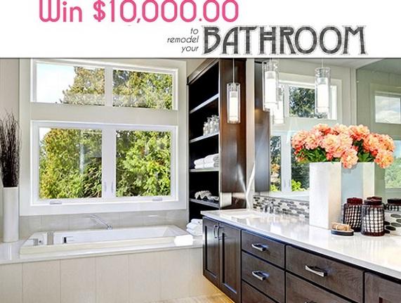 PCH.com $10000 Bathroom Makeover Giveaway