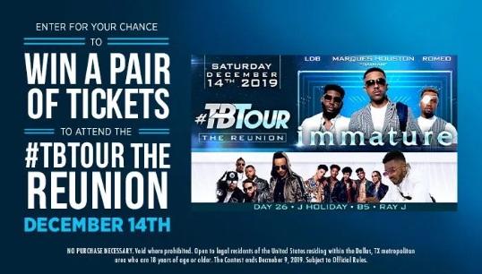 TB Tour The Reunion Contest