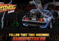 Follow That Time Machine Sweepstakes