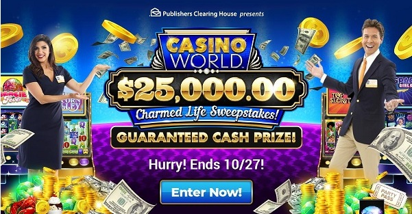 Pch.com 25000 Dollars Charmed Life Sweepstakes