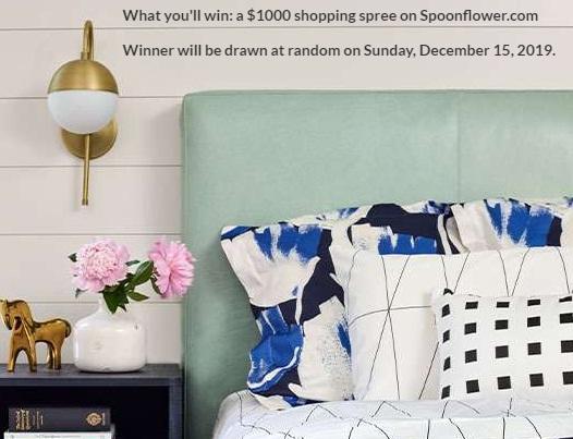 Spoonflower Serger Giveaway