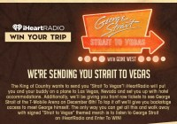 We Are Sending You Strait To Vegas Sweepstakes