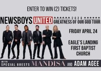 NEWSBOYS UNITED WITH MANDISA, ADAM AGEE TICKETS CONTEST