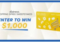 DealNews.com Shopping Spree Sweepstakes