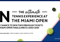 Kim Crawford Miami Open Sweepstakes