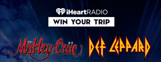 MOTLEY CRUE, DEF LEPPARD AND MORE ON THE STADIUM TOUR Sweepstakes