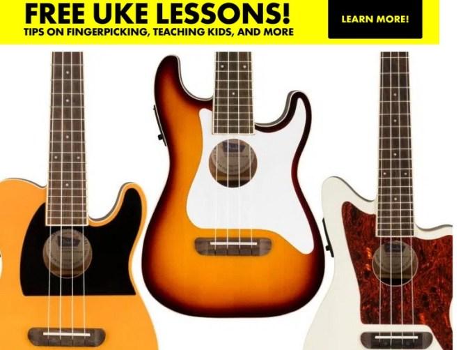 Ukulele Magazine Fender Fullerton Uke Sweepstakes