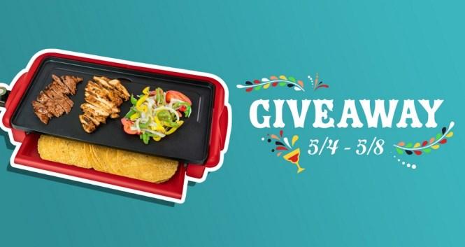 Nostalgia Taco Tuesday Nonstick Fiesta Griddle Contest