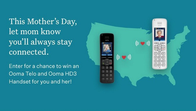 Ooma Mothers Day Sweepstakes