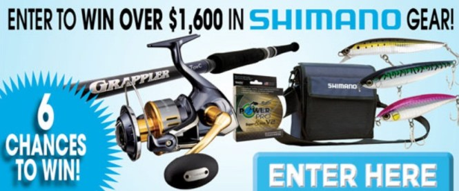 Shimano Gear Package Giveaway