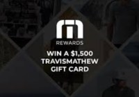 Travismathew Gift Card Giveaway