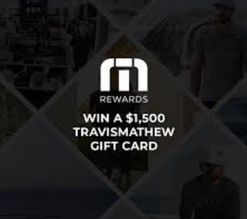Travismathew Gift Card Giveaway