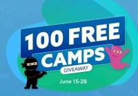 Code Ninjas 100 Free Camps Contest