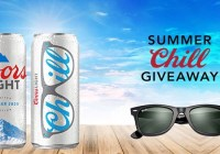 Coors Light Summer Chill Giveaway