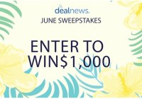 Dealnews Cash Sweepstakes
